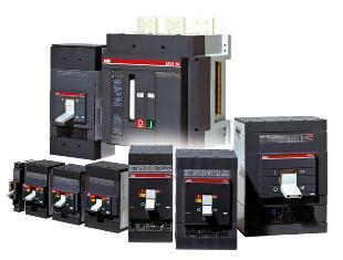 Автоматические выключатели АВВ SACE Tmax