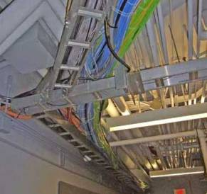 Виды электропроводок в производственных помещениях