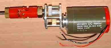 Исполнительные двигатели постоянного тока