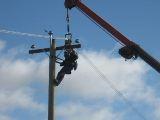 Безопасность при работе на опорах воздушных линий