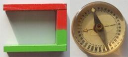 магнит и компас