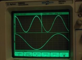 измерение частоты на осциллографе