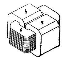 однофазный трансформатор броневого типа