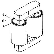 однофазный трансформатор стержневого типа