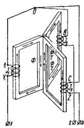 Принцип действия и устройство трехфазных трансформаторов