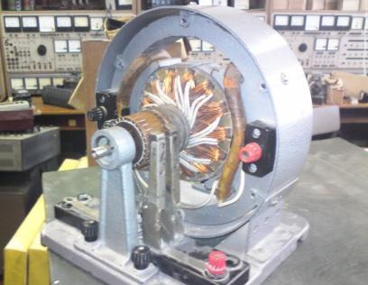 модель электродвигателя