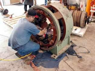 ремонт электродвигателя перемотка электродвигателя