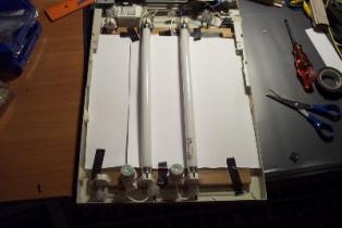 схема включения люминесценой лампы