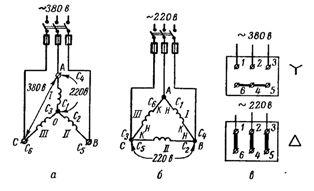 Схемы двигателей