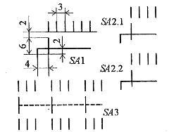 Обозначение на электрических схемах пакетного переключателя