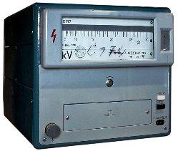 Электростатический киловольтметр