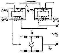 Схема измерительного трансформатора постоянного тока