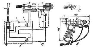 Автоматическая электросварка контактным разогревом однопроволочных алюминиевых жил суммарным сечением до 12,5 мм2 аппаратом ВКЗ