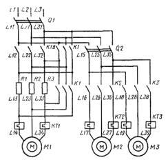 Обозначение электрических цепей на схемах