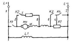автобус нефаз схема электрическая