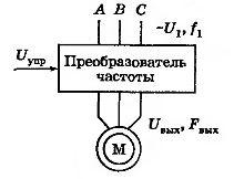 Схема частотного электропривода