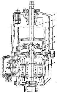Электрогидравлический толкатель серии ТЭ