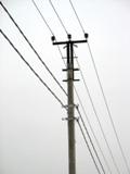 Монтаж проводов воздушных линий