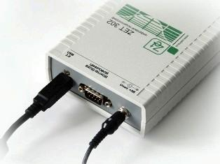 Запоминающий цифровой осциллограф ZET 302