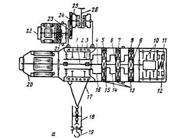 Электропривод электротали ТЭП-1