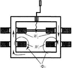 Устройство сварочного трансформатора с подвижными обмотками
