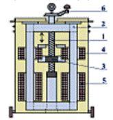 Конструкция трансформатора с подвижными обмотками