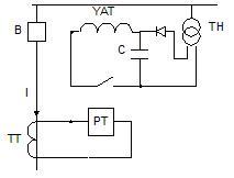 Схемы с использованием конденсаторных батарей