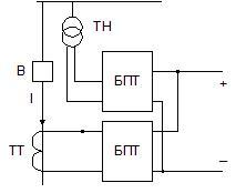 Схемы на выпрямленном оперативном токе