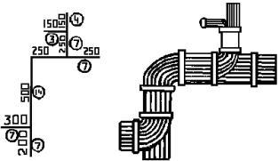 Пример составления эскизов для заготовки проводов