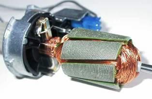 Коллектор двигателя постоянного тока