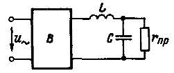 Простейший сглаживающий Г-образный электрический фильтр