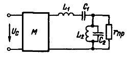 Схема простого полосового электрического фильтра