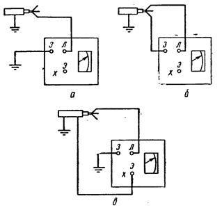 Схемы измерения сопротивления изоляции мегомметром