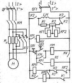 Схема управления синхронным двигателем