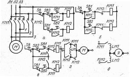 Схемы управления двигателями