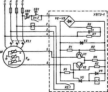 электрическая схема прибора оп1 м