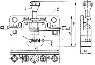 Зажим испытательный типа КИ-4М