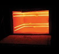 Электрическая печь нагрева сопротивлением