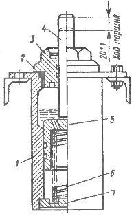 Масляный буфер выключателя ВМГ-10