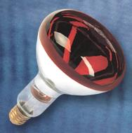ИКЗК 220-250 — инфракрасная зеркальная с окрашенной колбой