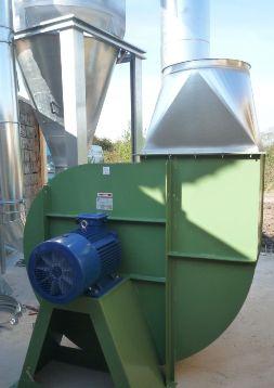 Электропривод центробежного вентилятора