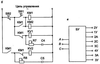 Тиристорное управление асинхронным двигателем с короткозамкнутым ротором