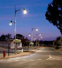 Освещение улиц, дорог и площадей