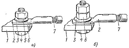 Соединение медной жилы с плоским выводом из меди или сплава алюминия
