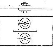 Контактное соединение шин с продольным разрезом