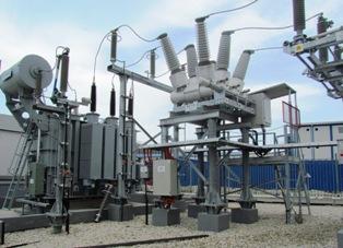 Подстанция 110 кВ, построенная для проведения Зимних Олимпийских игр 2014 года в Сочи