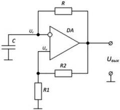 Схема симметричного мультивибратора