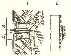 Прокладка плоских проводов по сгораемым основаниям