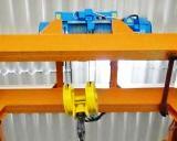 Схема электропривода механизма подъема крана с панелью ТСДИ