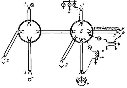 Схема прозвонки проводов в